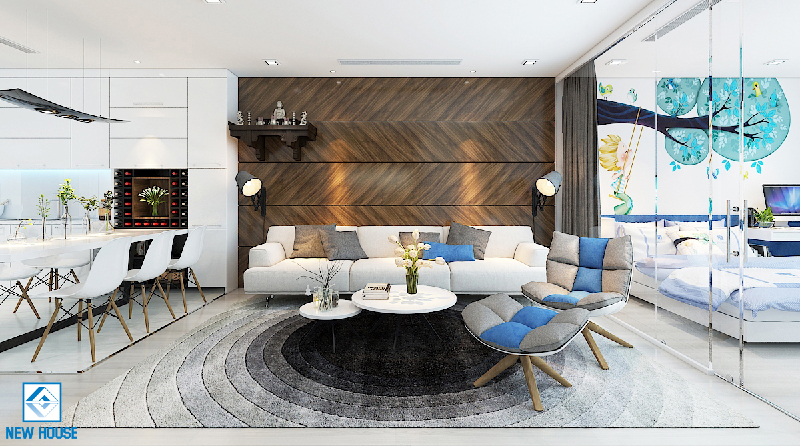 Quy trình thiết kế và thi công nội thất chung cư uy tín